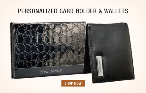 Personalized Card Holder and Wallets